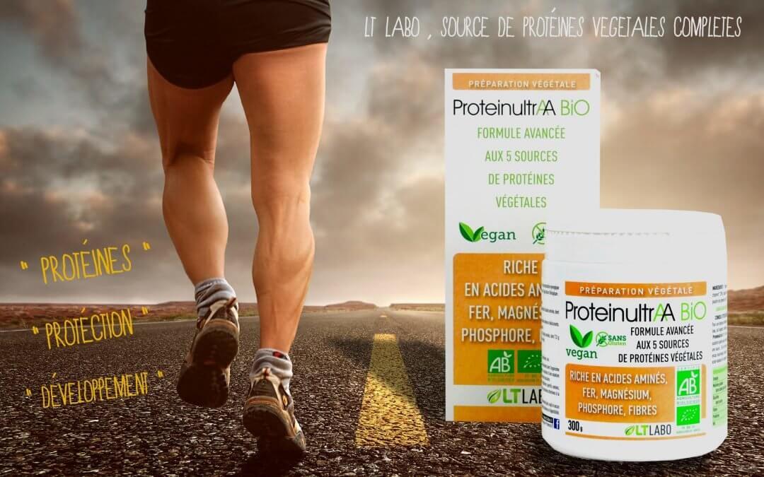 ProteinultrAA aux 5 sources de protéines végétales